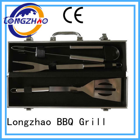 Longzhao BBQ grilling tool set best price for barbecue