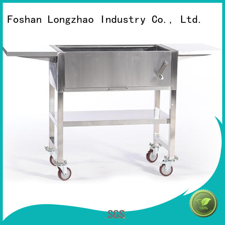 Longzhao BBQ stainless coal bbq grill bulk supply for camping
