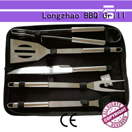 Longzhao BBQ aluminum bbq grill tool set inquire now for charcoal grill