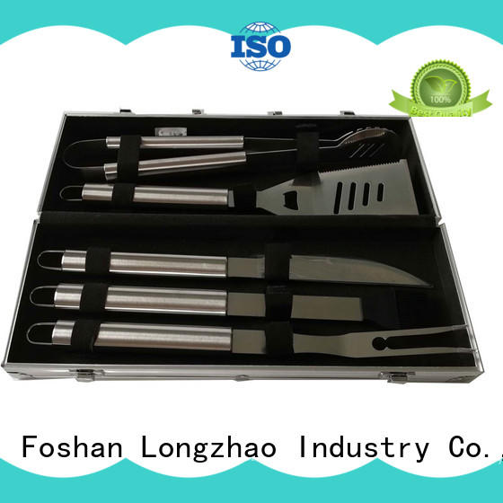 Longzhao BBQ grill basket for shrimp for charcoal grill
