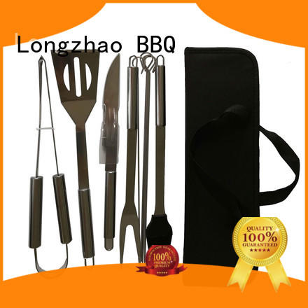 bbq grill tool set for outdoor camping Longzhao BBQ