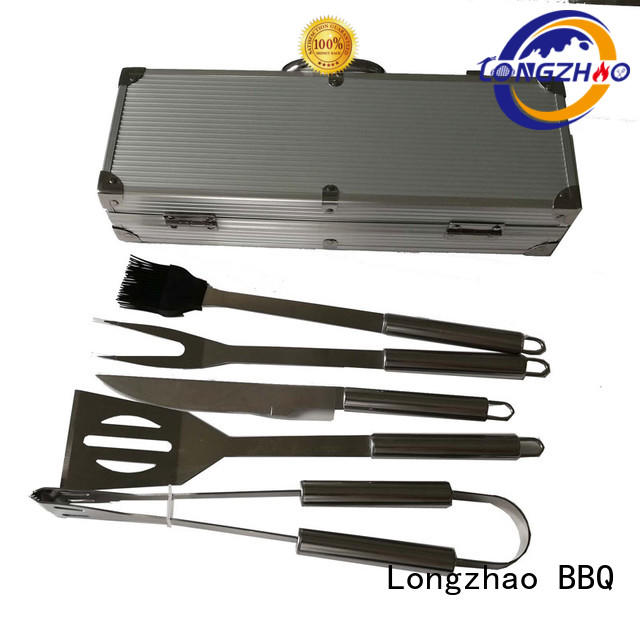 Longzhao BBQ pvc bbq grill basket best quality for charcoal grill