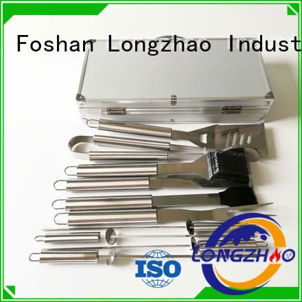 folding low price high quality professional Longzhao BBQ Brand liquid gas grill supplier