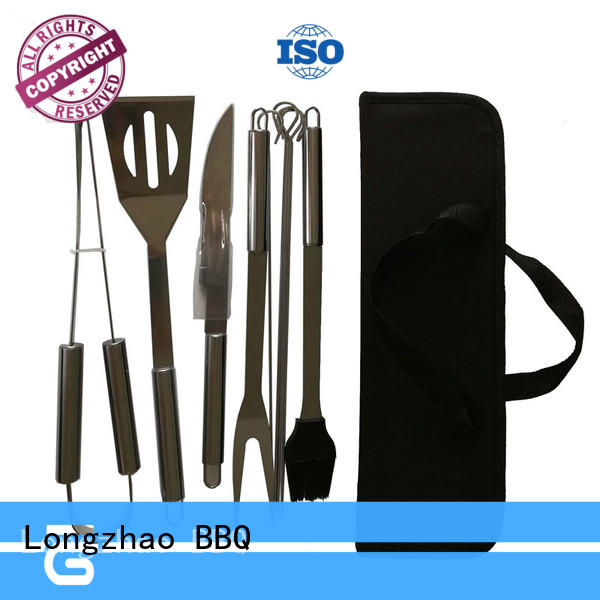 folding grill basket for shrimp order now for barbecue Longzhao BBQ