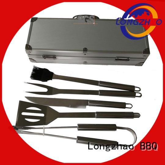 high quality Custom eco-friendly bbq grill basket low price Longzhao BBQ