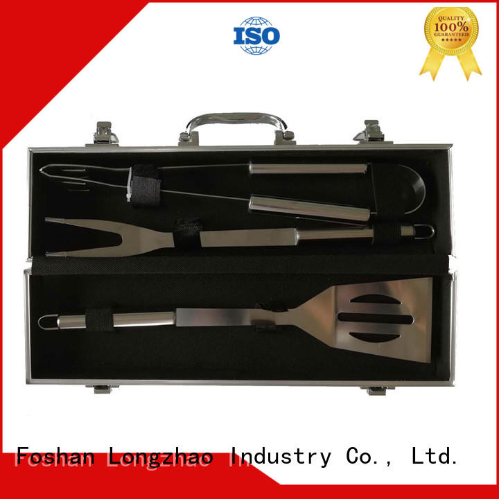 Longzhao BBQ portable bbq grill tool set custom for gas grill