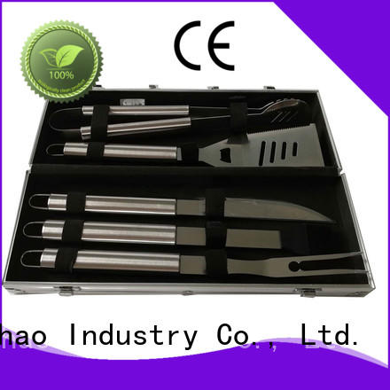 Longzhao BBQ folding bbqgrill accessories custom for gas grill