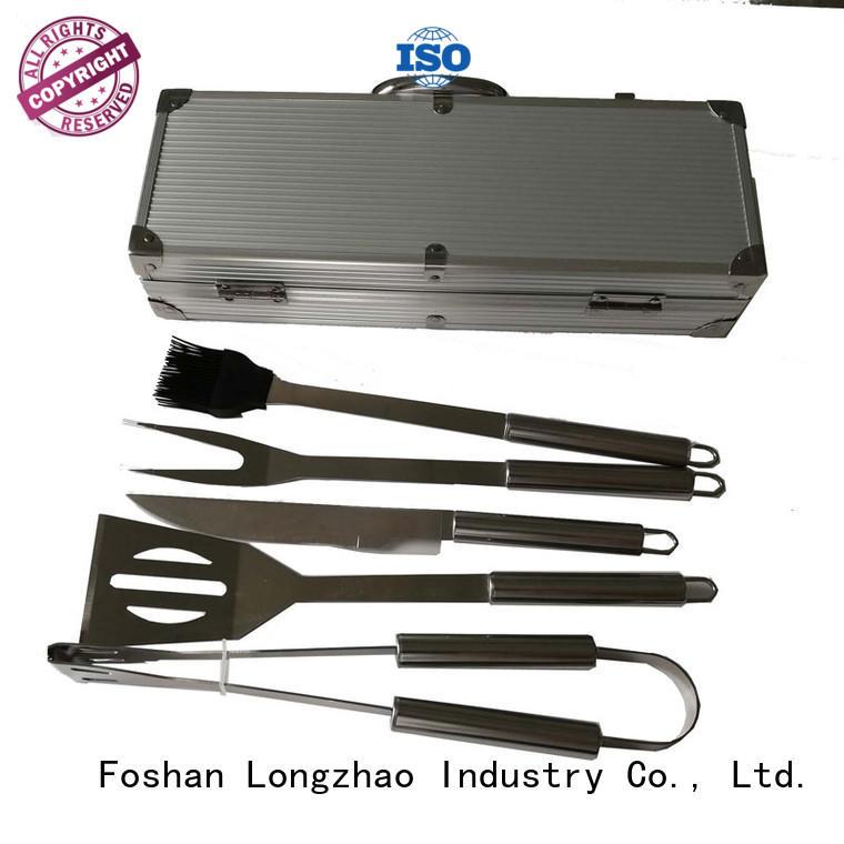 Longzhao BBQ portable bbq grill tool set custom for gas grill