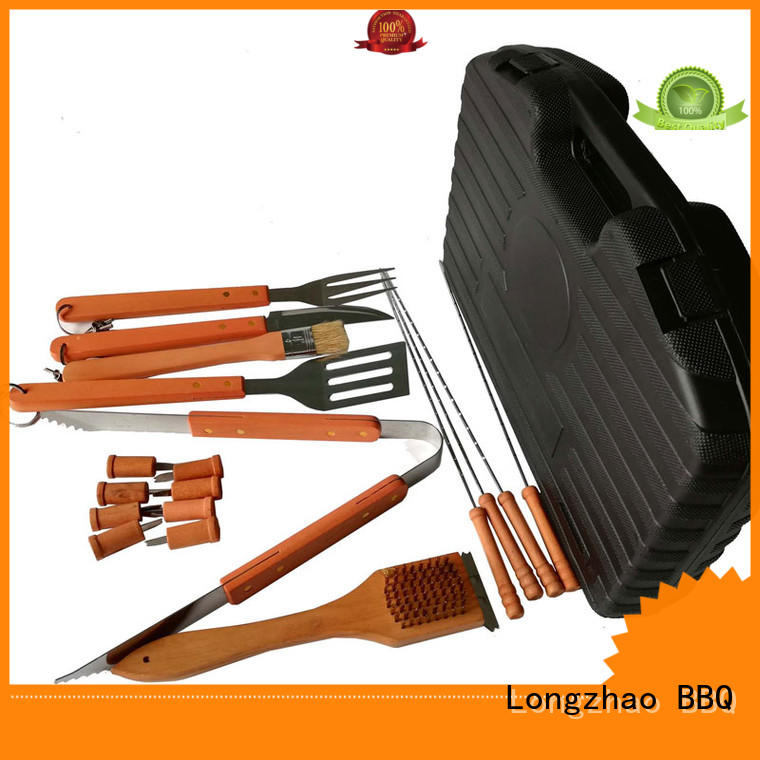 hot selling low price folding folding grill basket Longzhao BBQ Brand