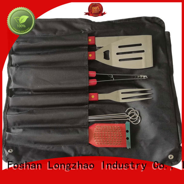 Longzhao BBQ portable accessories for grilling fish factory price for charcoal grill