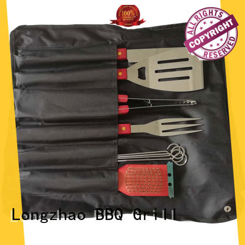low price barbecue tool set factory price for charcoal grill