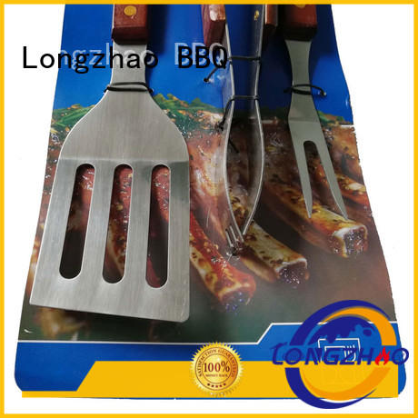 gas barbecue bbq grill 4+1 burner bbq grill tables Longzhao BBQ Brand