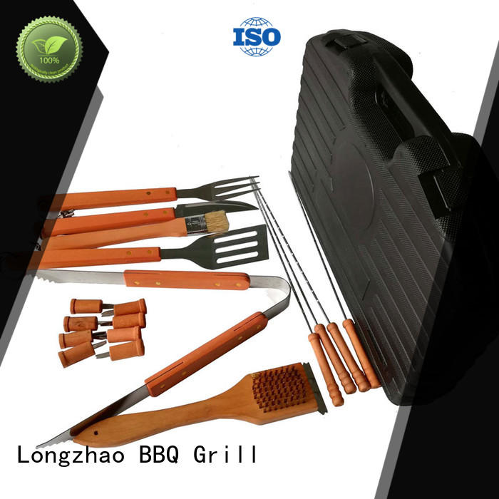 stainless steel barbecue tool set by bulk for gas grill