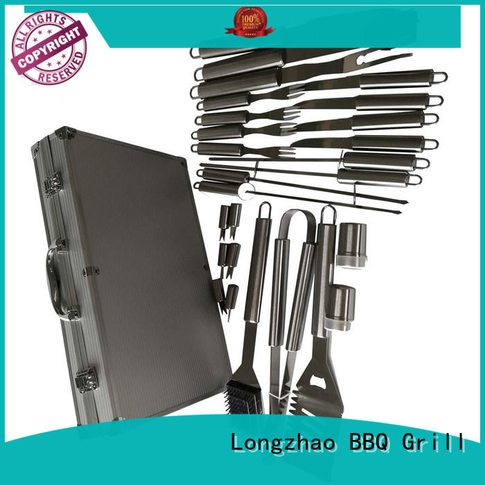 Longzhao BBQ portable grill basket australia best quality for outdoor camping