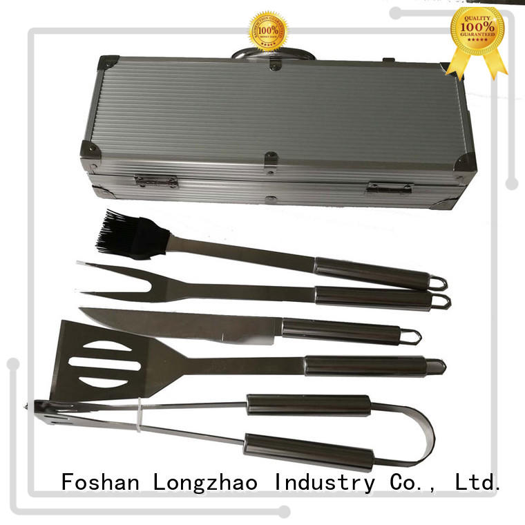 bag bbq grill tool set for charcoal grill Longzhao BBQ