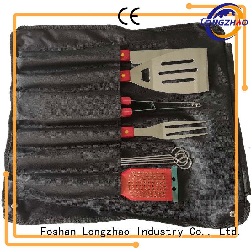 Longzhao BBQ bbq grill tool set hot-sale for gas grill