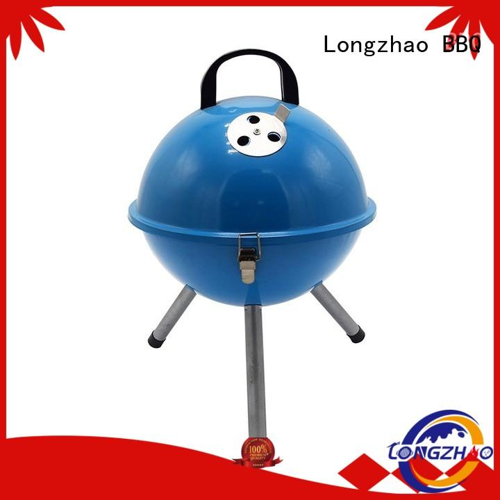 portable inch gas barbecue bbq grill 4+1 burner manufacturer direct selling backyard Longzhao BBQ Brand