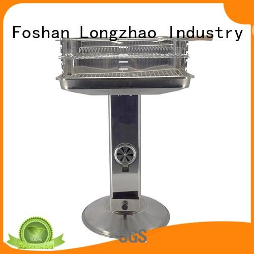 steel portable barbecue grill side for outdoor cooking Longzhao BBQ