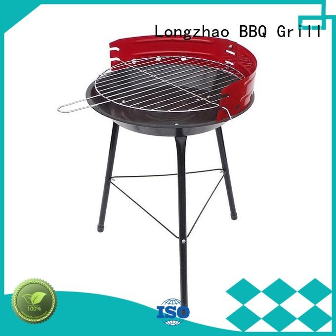 wood portable barbecue grill ball for barbecue Longzhao BBQ