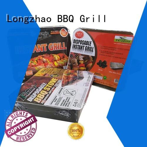 smoker outdoor fire pit b&q surface for barbecue Longzhao BBQ