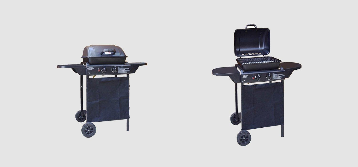 Classic 2 Burners Liquid Propane Gas Grill Patio BBQ-1
