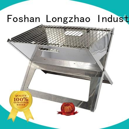 Longzhao BBQ portable barbecue grill bulk supply for outdoor bbq