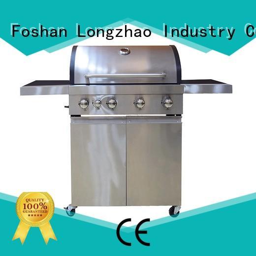 cart backyard 2 burner gas grill portable burner Longzhao BBQ Brand