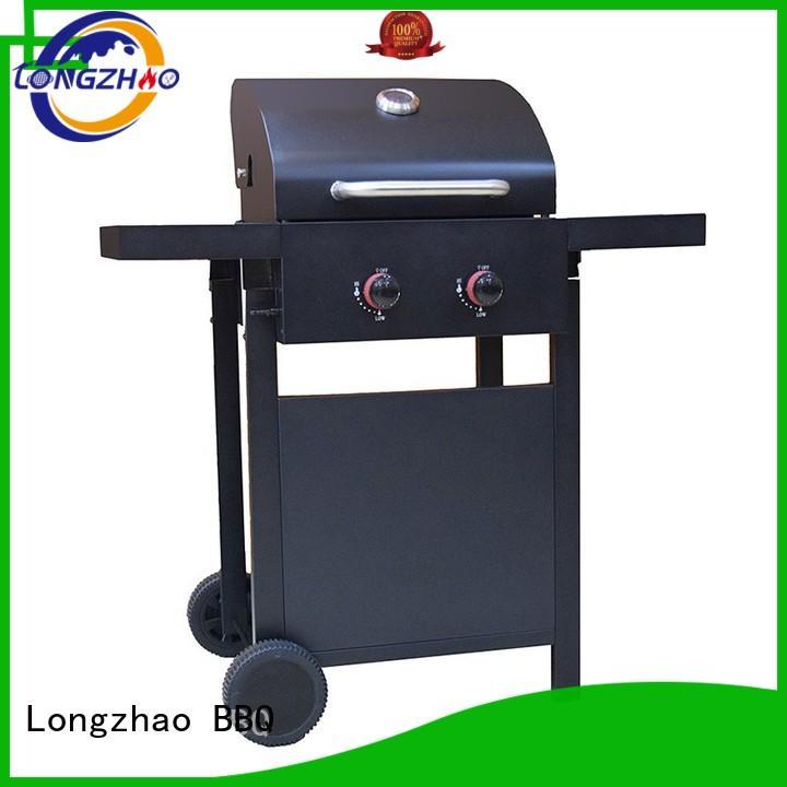 Hot cart liquid gas grill barbecue backyard Longzhao BBQ Brand