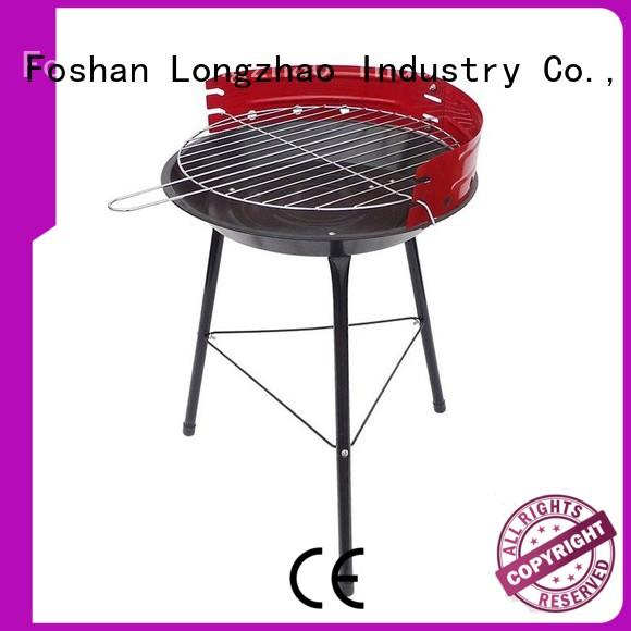 Longzhao BBQ charcoal broil grill factory direct supply for outdoor bbq
