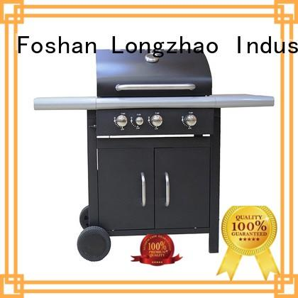patio portable 2 burner gas grill Longzhao BBQ manufacture