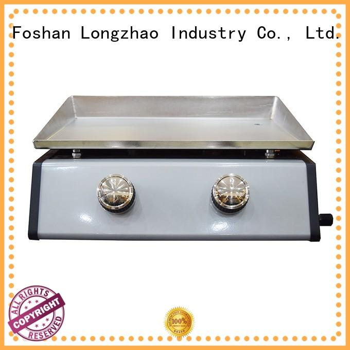 Longzhao BBQ stainless steel gas grill side burner free shipping for cooking