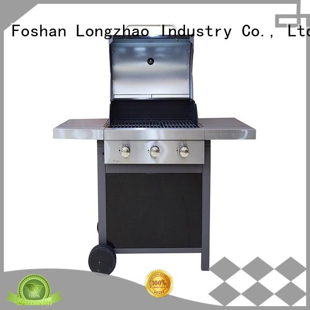 Longzhao BBQ large base best gas bbq griddle for garden grilling