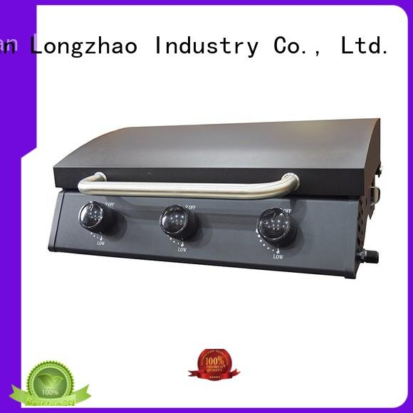 Longzhao BBQ propane gas bbq grill for sale tabletop for garden grilling