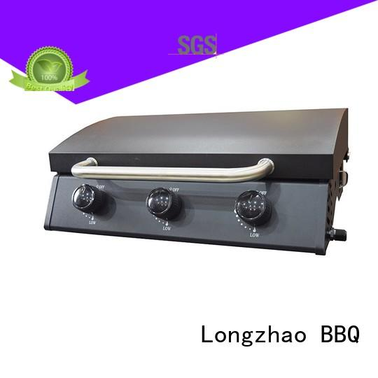 Longzhao BBQ stainless steel gas grill stainless steel easy-operation for garden grilling