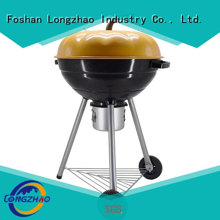 hot selling gas barbecue bbq grill 4+1 burner stainless eco-friendly Longzhao BBQ Brand
