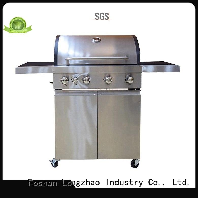 hood best gas bbq factory direct hot selling Longzhao BBQ company