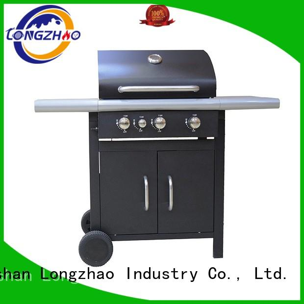 tables stainless steel gas grill for garden grilling Longzhao BBQ