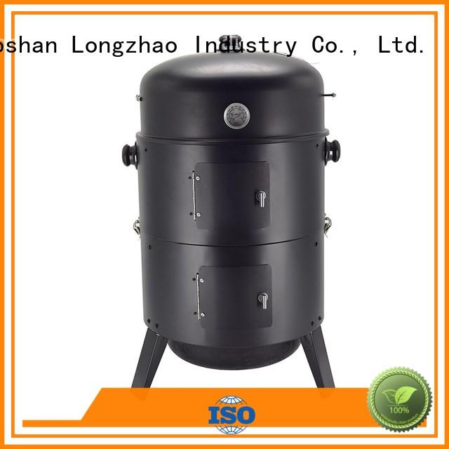 round metal fire pits garden for barbecue Longzhao BBQ