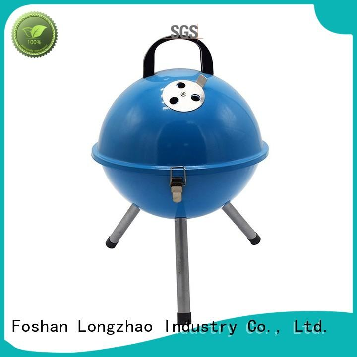Longzhao BBQ simple portable barbecue grill price for outdoor bbq