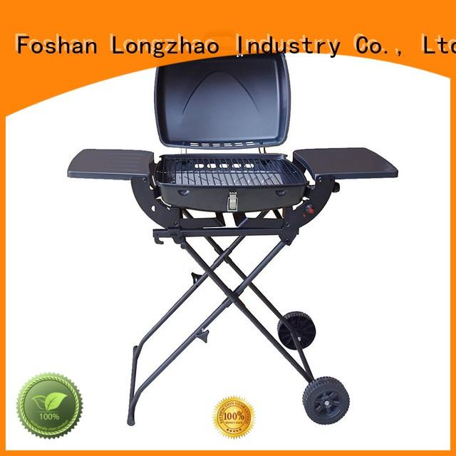 plate tabletop gas barbecue grill table top for garden grilling Longzhao BBQ