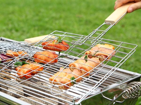 Longzhao BBQ stainless steel bbq equipment custom for charcoal grill