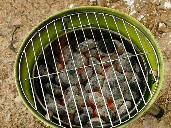 Longzhao BBQ round metal charcoal bbq grill sale high quality for outdoor bbq-4