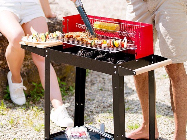 Longzhao BBQ professional charcoal grill high quality for outdoor bbq-4