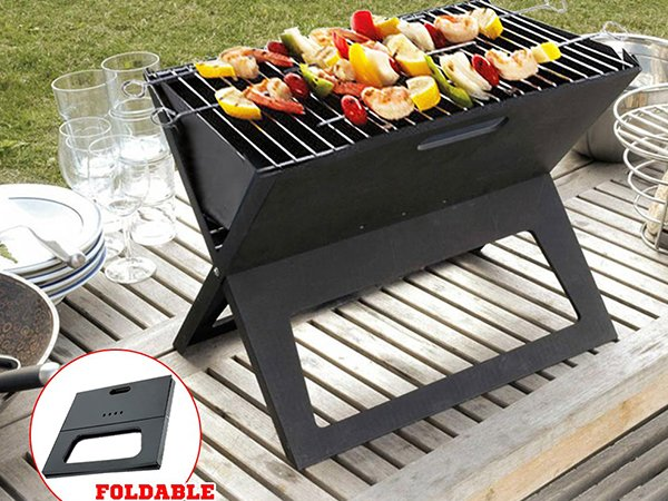 small charcoal grill steel for outdoor bbq Longzhao BBQ-4