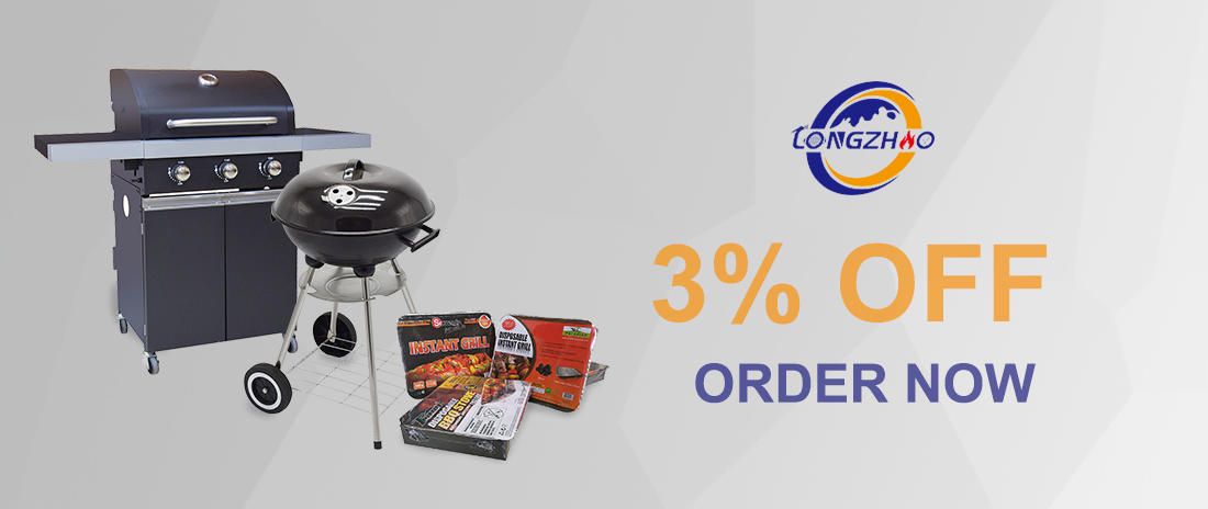 Longzhao BBQ made best charcoal order now for meat grilling