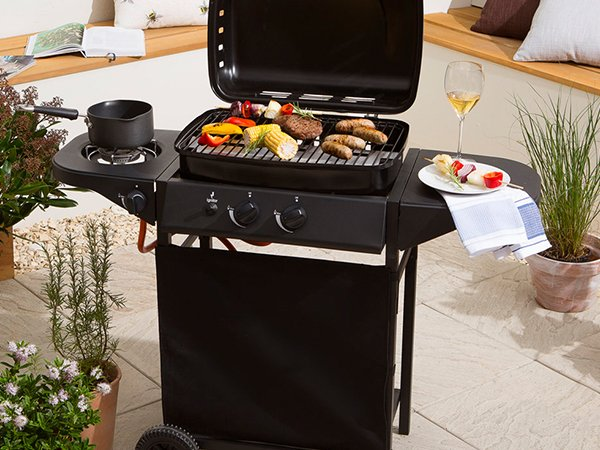 2+1 Burners Backyard Butane Gas BBQ Grills-4