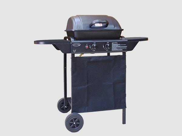 Longzhao BBQ large storage LPG gas grill griddle for cooking