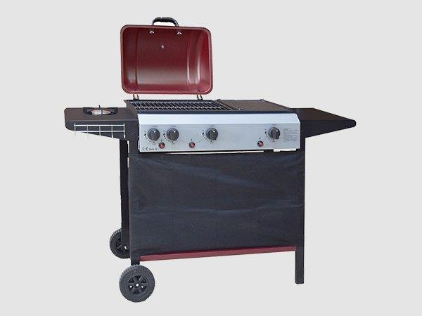 Longzhao BBQ propane foldable portable gas grill griddle for cooking