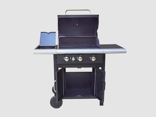 Longzhao BBQ large storage outdoor natural gas grills free shipping for cooking