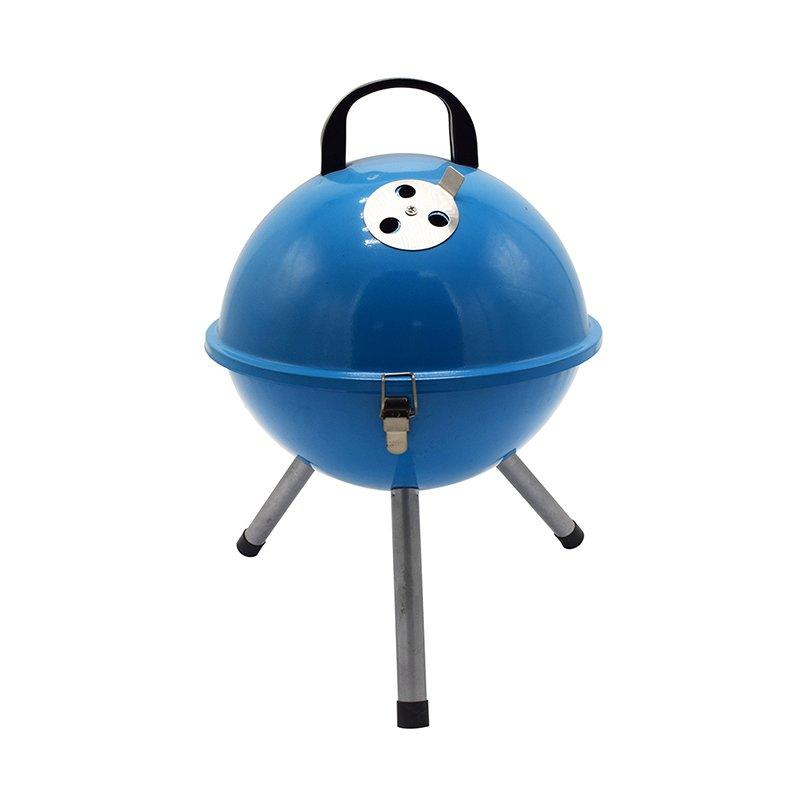 Longzhao BBQ round metal charcoal bbq grill sale high quality for outdoor bbq